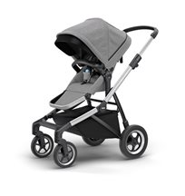 Thule Sleek sittvagn, grey melange