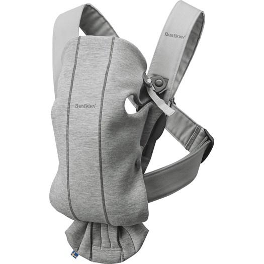 Babybjörn bärsele Mini, 3D jersey ljusgrå
