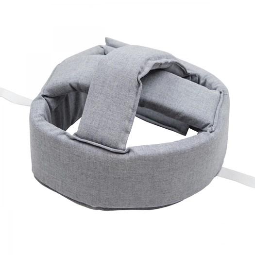 NG Baby pannband bred, gråmelerat