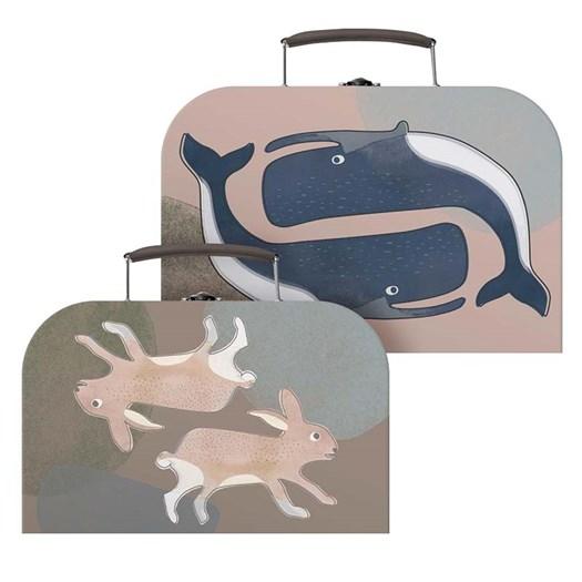 Sebra pappväska 2-p, arctic animals