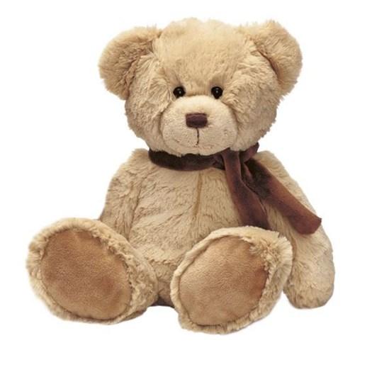 Teddykompaniet nallebjörn Eddie 34 cm, beige