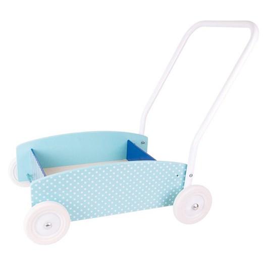 Jabadabado läragåvagn, blå