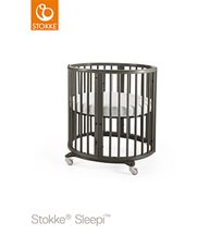 Stokke Sleepi Mini inkl madrass, hazy grey