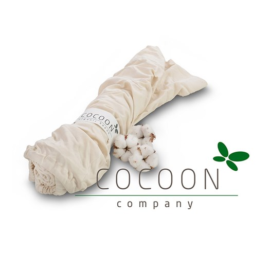 Cocoon Company ekologiskt jerseylakan vagn/vagga, 2-pack