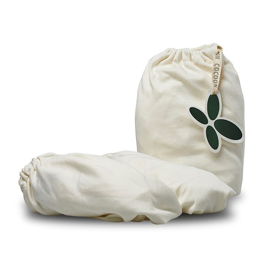 Cocoon Company ekologiskt jerseylakan spjälsäng, 2-pack