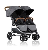 Crescent Duo Lightway sittvagn, grey melange