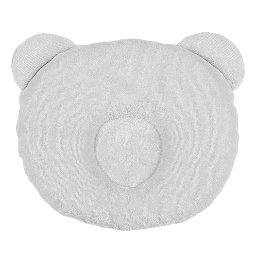 Candide Panda babykudde, ljusgrå