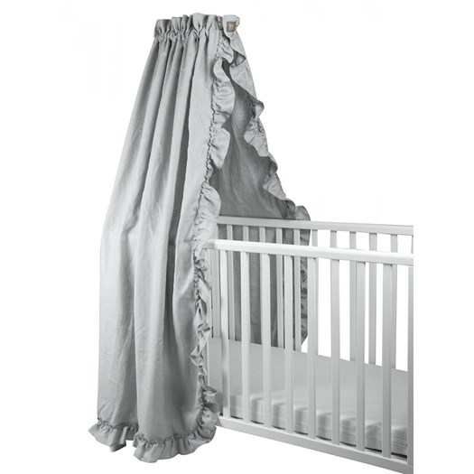 NG Baby sänghimmel, MOOD light grey