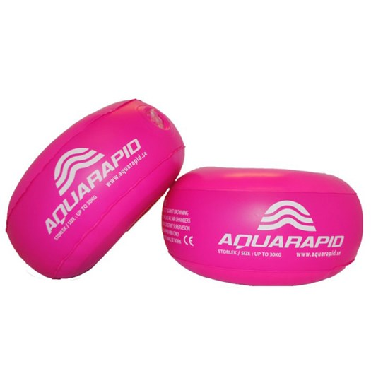 Aquarapid aquarings armringar 0-30 kg, rosa