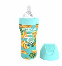 Twistshake Anti-Colic rostfri flaska 330 ml, banana