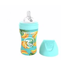 Twistshake Anti-Colic rostfri flaska 260 ml, banana
