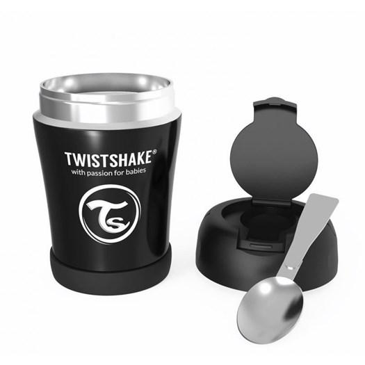 Twistshake mattermos 350 ml, svart