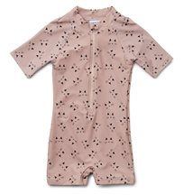 Liewood UV-dräkt/jumpsuit Max Swim stl 68/74, cat rose