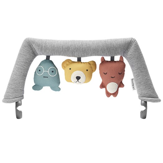 Babybjörn leksaksbåge Balance, mjuka vänner