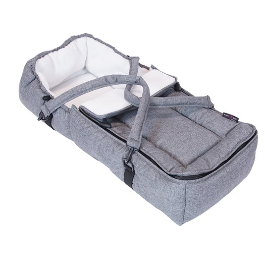Basson Baby mjuklift, grå melange