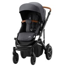 Britax Smile 3 sittvagn, midnight grey/brunt handtag