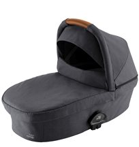 Britax Smile III liggdel, midnight grey/brunt handtag