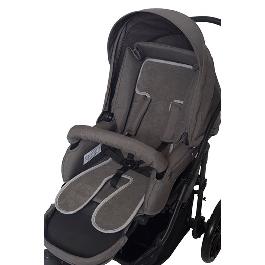 AirCuddle coolseat barnvagnsdyna, grå