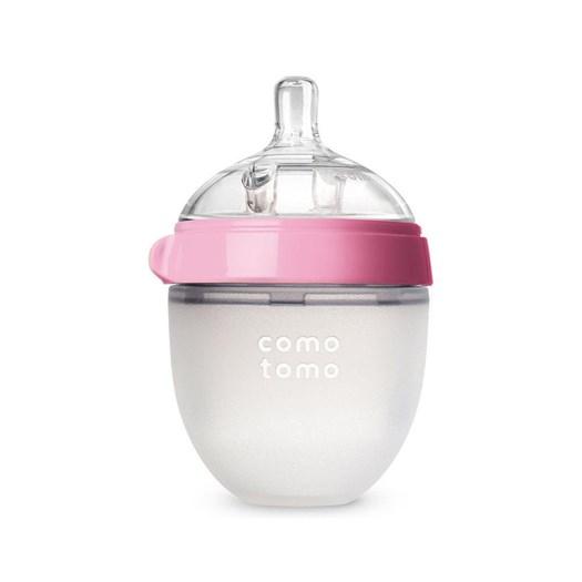 Comotomo nappflaska 150 ml, rosa