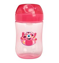 Dr.Brown pipmugg monster mjuk pip 270 ml, rosa