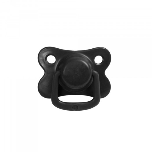Filibabba napp silikon 6m+ 2-pack, black