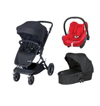 Safety 1st Kokoon duovagn + Maxi-Cosi cabriofix babyskydd 0-13 kg