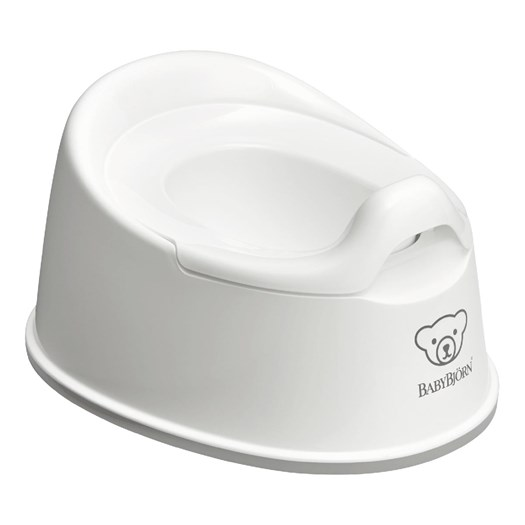 Babybjörn smart potta, vit/grå