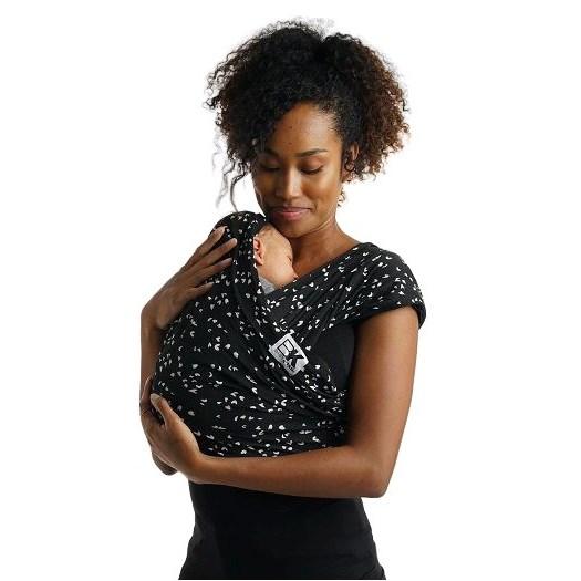 Baby K´tan bärsjal Sweetheart black, stl XL, XL