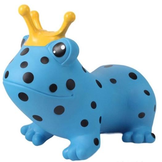 Gerardos Toys hoppdjur, groda blå
