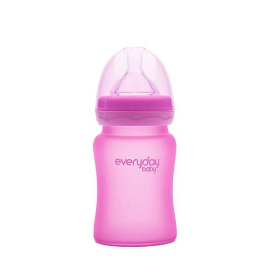 Everyday Baby nappflaska med värmeind 150 ml, rosa