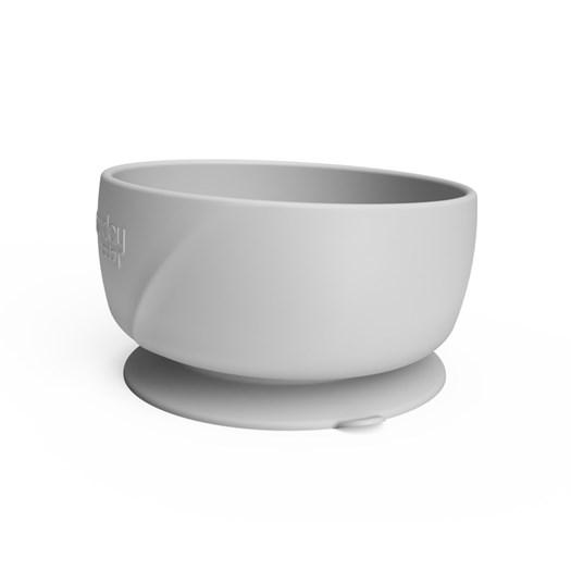 Everyday Baby silikonskål med sugfunktion, quiet grey