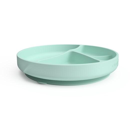 Everyday Baby silikontallrik med sugfunktion, mint green