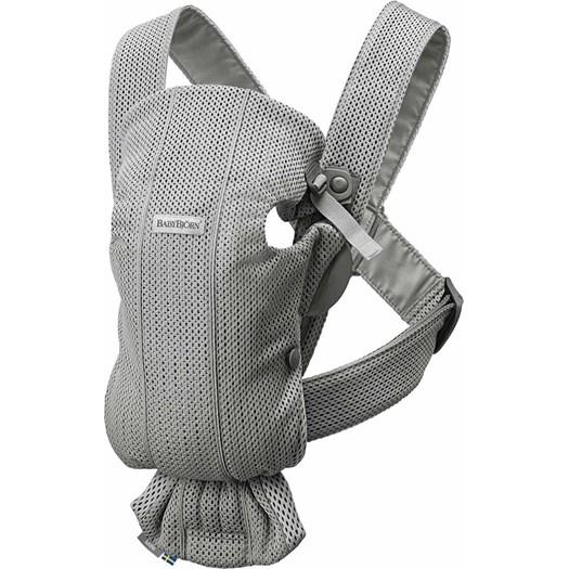 Babybjörn bärsele Mini, 3D mesh grå