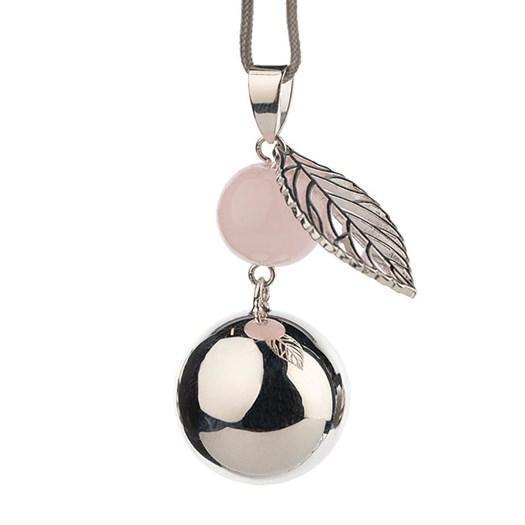 Gravidsmycke Bola silver pärla löv