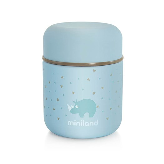 Miniland mattermos rostfri 280 ml, azure