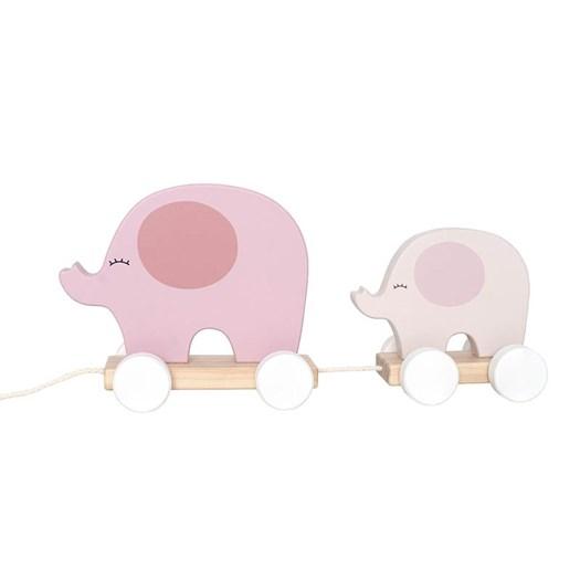 Jabadabado dragdjur elefant rosa