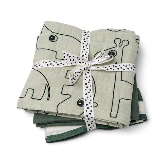 Done by Deer burp cloth 3-pack, deer friends green
