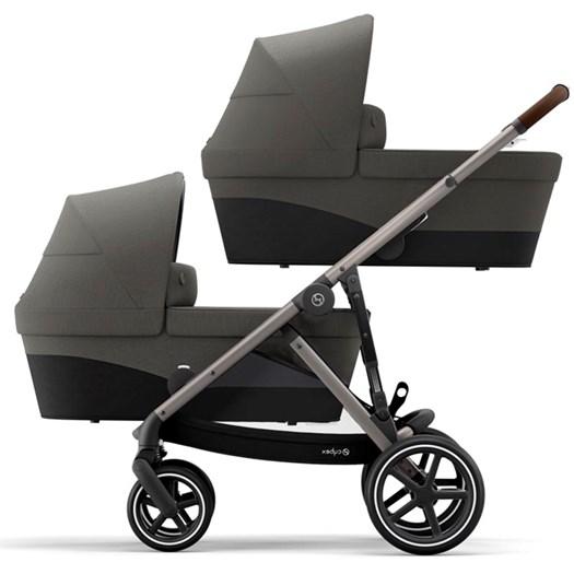 Cybex Gazelle S tvillingvagn sittdel + liggdel, valfri färg