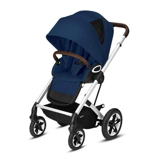 Cybex Talos S Lux sittvagn navy blue/silvrigt chassi