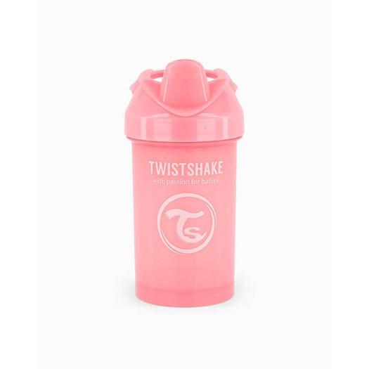 Twistshake drickpipsflaska 300 ml, rosa pastell