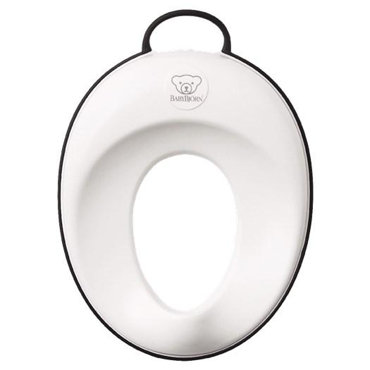 Babybjörn toalettsits, vit/svart