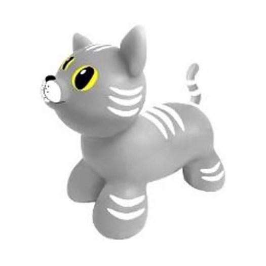 Gerardos Toys hoppleksak, katt grå