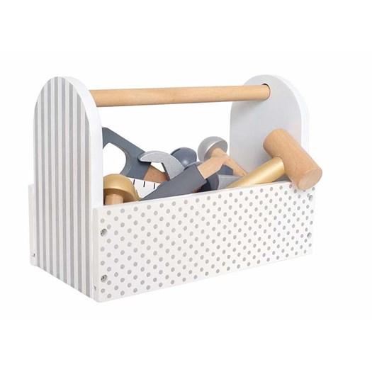 Jabadabado verktygslåda, silver