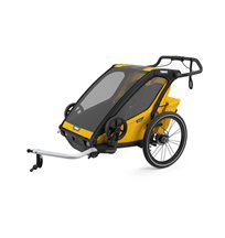 Thule Chariot Sport 2 cykelvagn 2021, spectra yellow