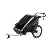 Thule Chariot Lite2 cykelvagn 2021, agave