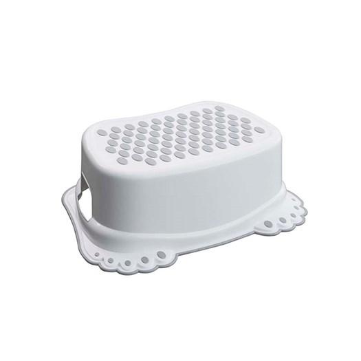 Kaxholmen badrumspall, vit anti-slip