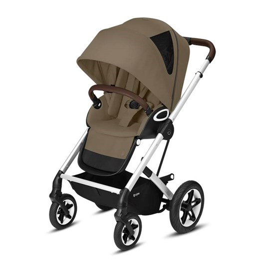 Cybex Talos S Lux sittvagn mid beige/silvrigt chassi