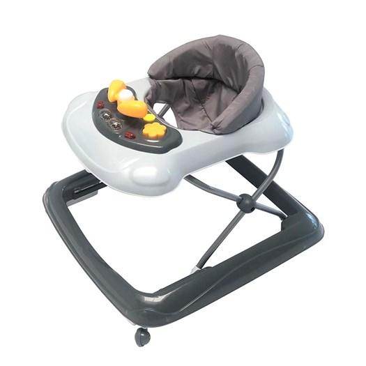 Basson Baby lära-gå-stol, grå