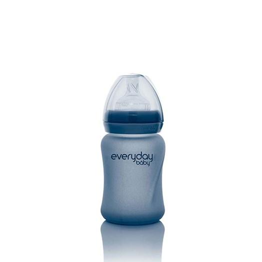 Everyday Baby nappflaska med värmeind Healthy+ 150 ml, blåbä