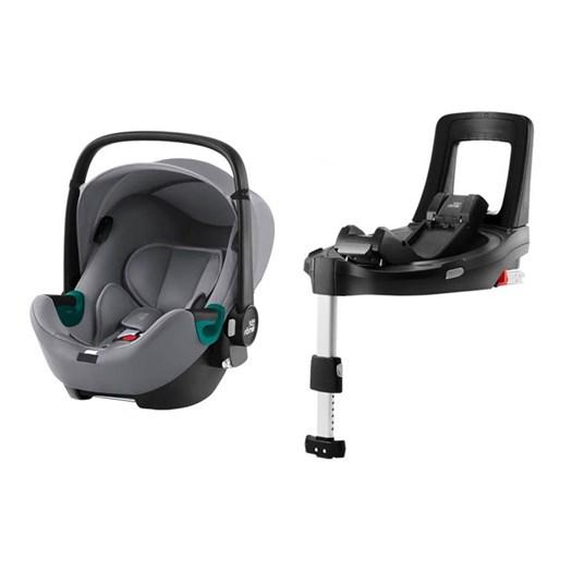 Britax Römer Baby-Safe iSense babyskydd + flexbas, valfri färg